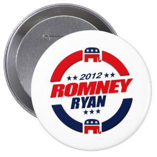 ROMNEY RYAN VP SPHERE.png Pin Redondo 10 Cm