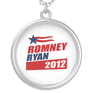 ROMNEY RYAN VP STAR BANNER.png Necklaces