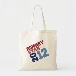 ROMNEY RYAN VP TILT png Tote Bags