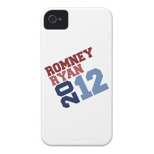 ROMNEY RYAN VP TILT.png Case-Mate iPhone 4 Cobertura