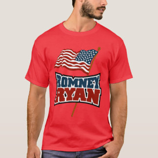 Romney Ryan Waving Flag Tee