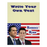 Romney Ryan - Write Your Own Text Poster