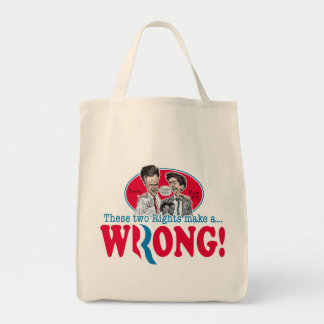Romney Ryan Wrong Canvas Bags