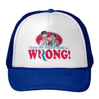 Romney Ryan Wrong Mesh Hats