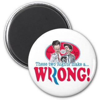 Romney Ryan Wrong Magnet