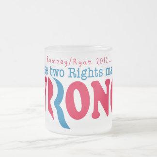 Romney Ryan Wrong Coffee Mugs