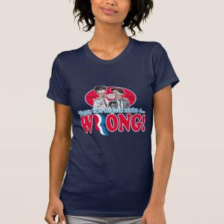 Romney Ryan Wrong T-shirt