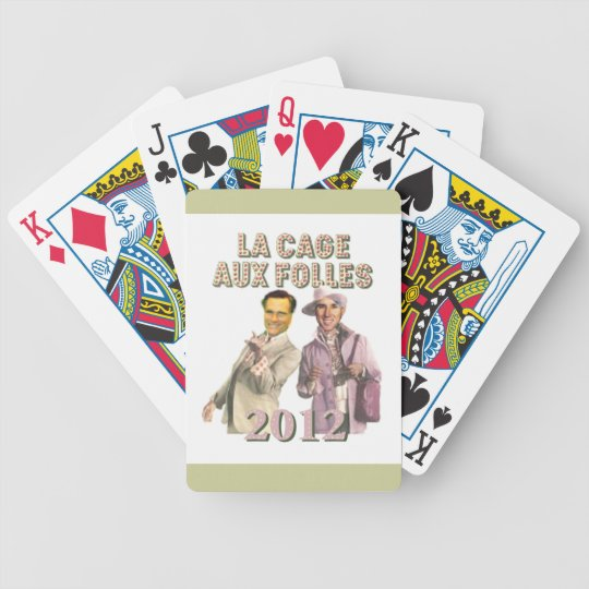ROMNEY Santorum Bicycle Playing Cards