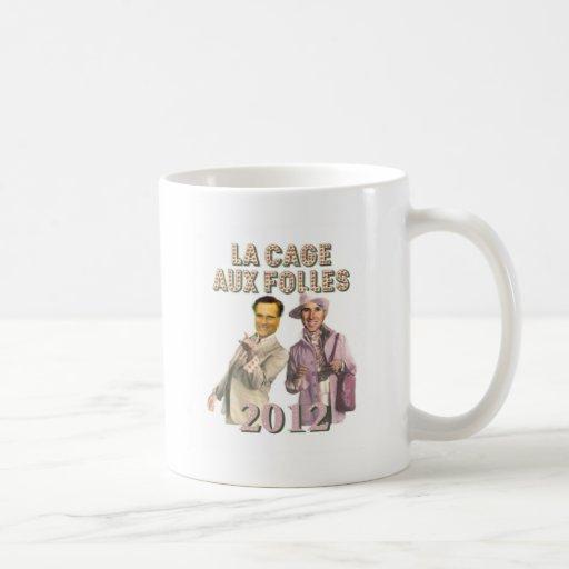 Romney Santorum Classic White Coffee Mug