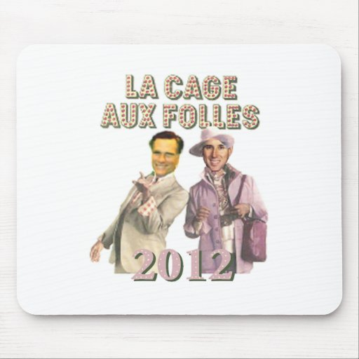 Romney Santorum Mouse Pad