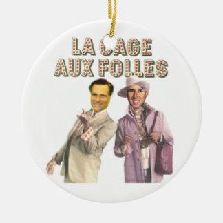 Romney Santorum Ornament