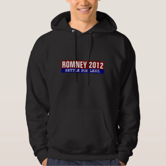 Romney Settle For Less Hoodie