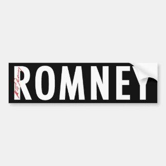 Romney Signature Gear Car Bumper Sticker