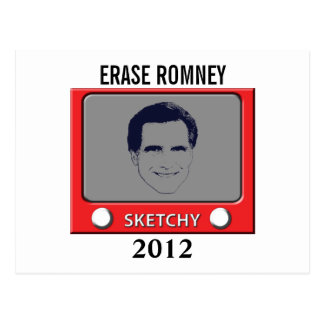 Romney Sketch Toy Postcard