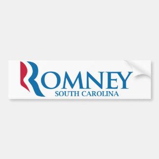 Romney South Carolina Bumper Sticker Car Bumper Sticker
