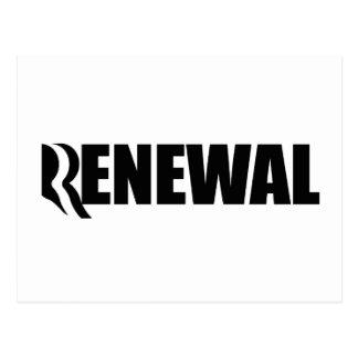 ROMNEY STANDS FOR RENEWAL - png Postcard