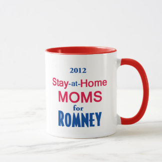 Romney Stay Home MOMS Mug