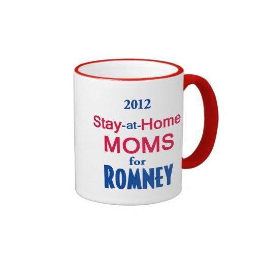 Romney Stay Home MOMS Coffee Mug