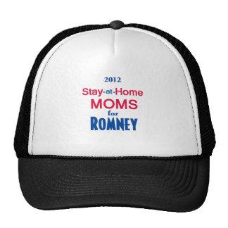 Romney Stay Home MOMS Trucker Hat