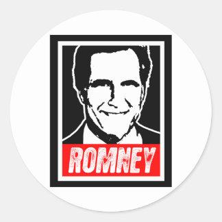 ROMNEY ROUND STICKER