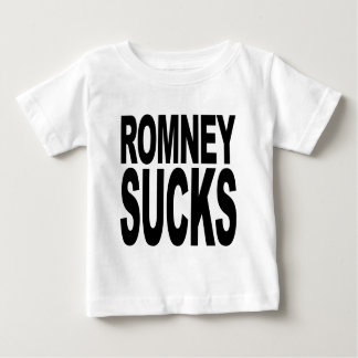 Romney Sucks Baby T-Shirt