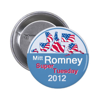 Romney SUPER TUESDAY Button