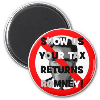 Romney tax returns magnet