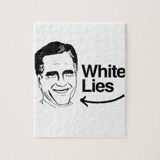 ROMNEY TELLS WHITE LIES PUZZLE