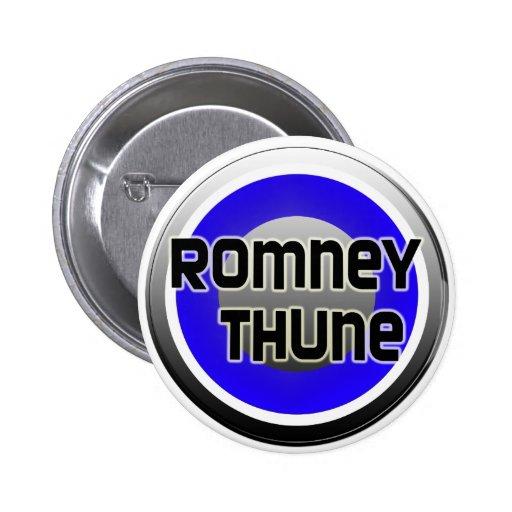Romney Thune 2012 2 Inch Round Button