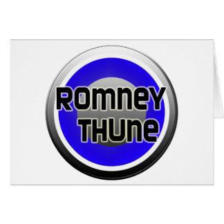 Romney Thune 2012 Card