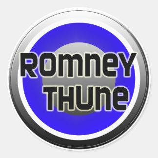 Romney Thune 2012 Classic Round Sticker