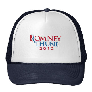 ROMNEY THUNE 2012 OFFICIAL VP png Trucker Hats