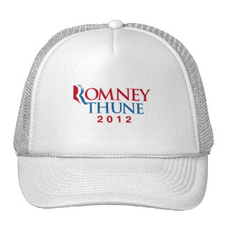 ROMNEY THUNE 2012 OFFICIAL VP png Hat