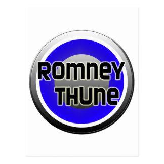 Romney Thune 2012 Postcard