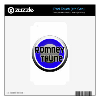 Romney Thune 2012 iPod Touch 4G Skins