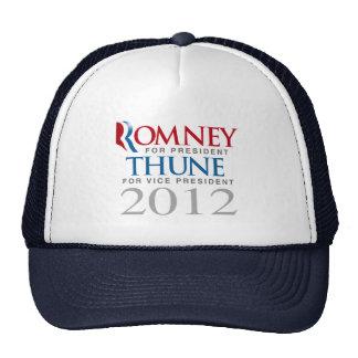 ROMNEY THUNE 2012 TOP VP png Trucker Hat