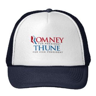 ROMNEY THUNE FOR VP LOGO png Hat