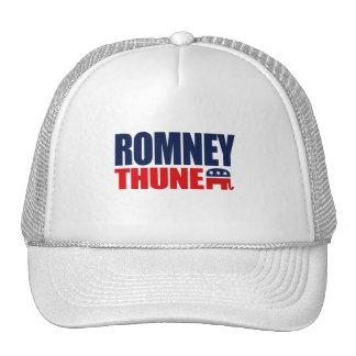 ROMNEY THUNE TICKET 2012 png Mesh Hat