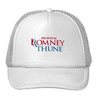 ROMNEY THUNE VP BELIEVE png Hats