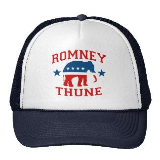 ROMNEY THUNE VP GOP MASCOT png Trucker Hat