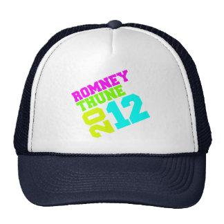 ROMNEY THUNE VP NEON COLLEGIATE png Trucker Hat