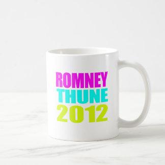 ROMNEY THUNE VP NEON IMPACT.png Classic White Coffee Mug