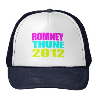 ROMNEY THUNE VP NEON IMPACT png Trucker Hat
