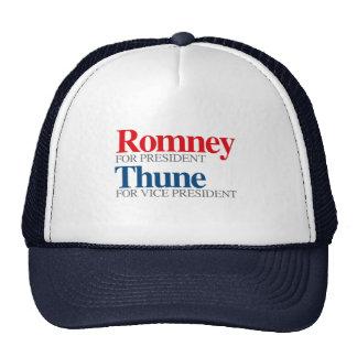 ROMNEY THUNE VP PICK png Mesh Hats