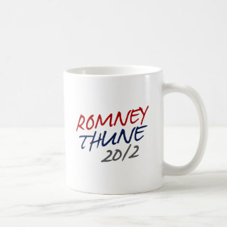 ROMNEY THUNE VP SCRIPT.png Classic White Coffee Mug