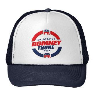 ROMNEY THUNE VP SPHERE png Trucker Hat
