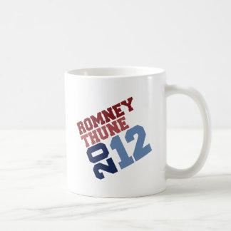 ROMNEY THUNE VP TILT.png Classic White Coffee Mug