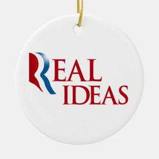 ROMNEY TIENE IDEAS.png REAL Adorno Redondo De Cerámica