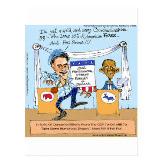 Romney Tries Zingers on Obama Funny Gifts & Cards
