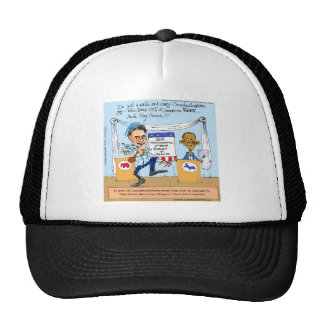 Romney Tries Zingers on Obama Funny Gifts & Cards Trucker Hat